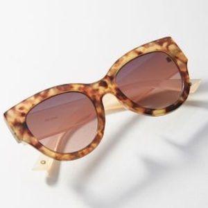 Anthropologie Ett:twa Vanna Cat-Eye Sunglasses